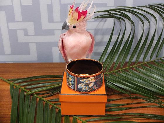 Bracelet Hermès en émail, modèle Brazil