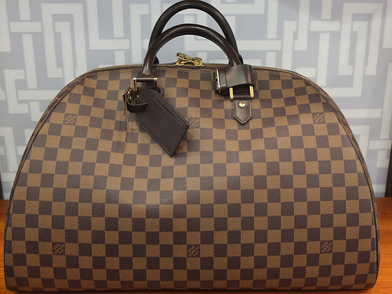 Sac de voyage Louis Vuitton en toile damier