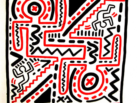 Keith Haring at Deitch Projects...