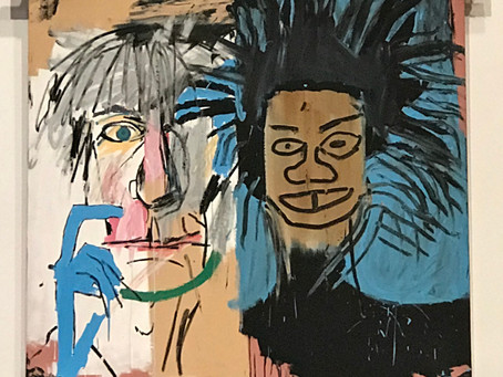 Jean-Michel #Basquiat at the new #BrantFoundation space, nyc...