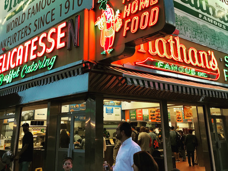 Nathan's Coney Island now....