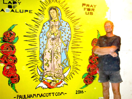 My final mural for Burning Man...