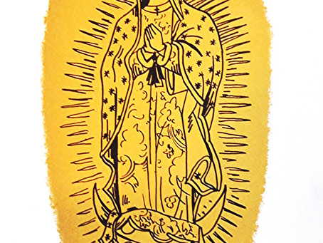 Our Lady of Guadalupe  Print Release