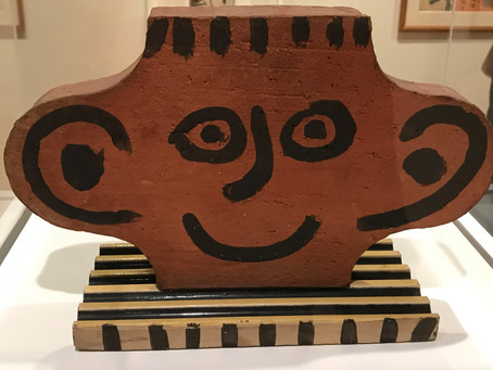 Picasso ceramic, @GreyGallery...