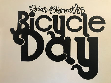 Bicycle Day, launch party for Brian Blomerth's retelling @ Head Hi tonite...