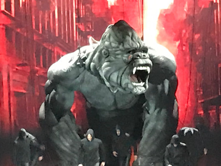 King Kong on Broadway, this afternoon!