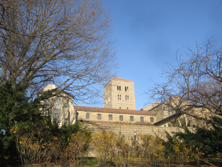 A pleasant afternoon afternoon at the Cloisters...