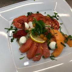 Aiguillettes de saumon