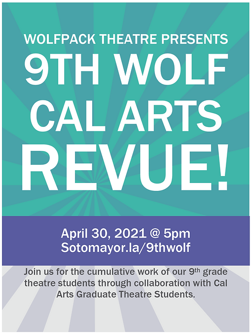 9th Wolf Poster