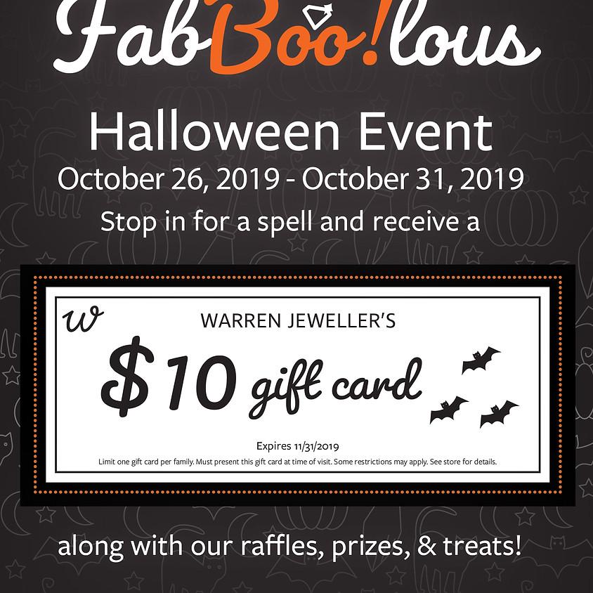 Fa-BOO-lous Halloween Event!