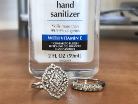 TAKING CARE OF YOUR JEWERLY – IS SOAP AND SANITIZER SAFE?