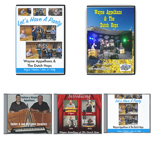 Wayne Appelhans & The Dutch Hops Bundle