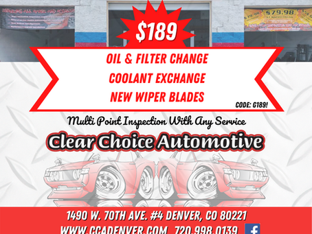 Graphic Design for Denver Auto Repair Shop