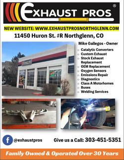 Exhaust Pros Flyer