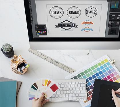 Designer Interior Working Workspace Conc