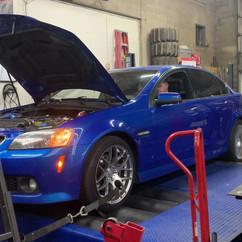 BMW Dyno Test