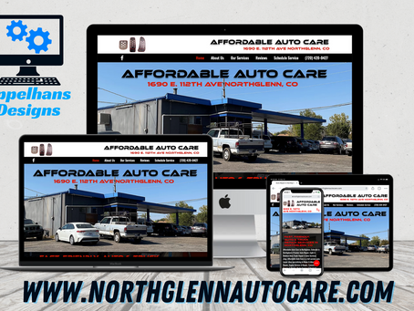 Web Design in Northglenn, Colorado: Affordable Auto Care LLC