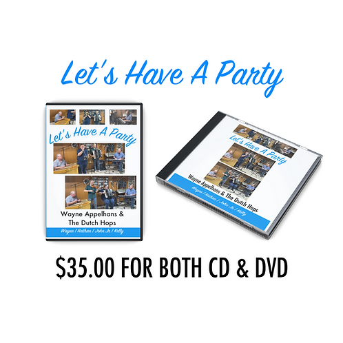 Let's Have A Party DVD & CD