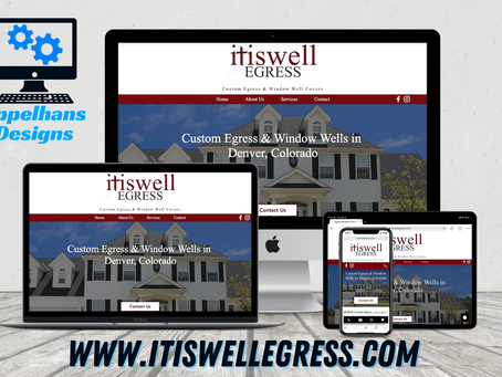 Web Design in Parker, Colorado: ItIsWell Egress