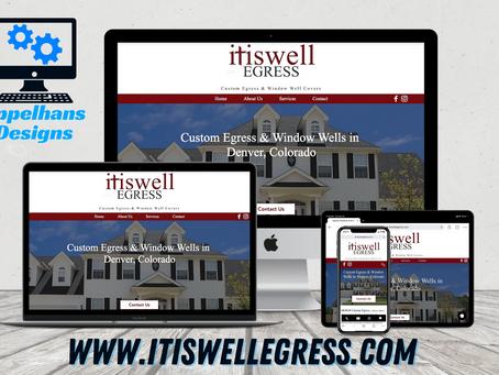 Web Design in Parker, Colorado: ItIsWell Egress