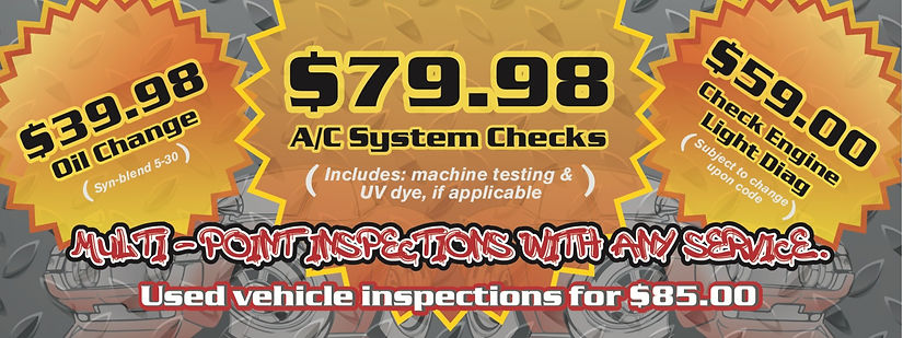 Current Specials - Clear Choice Automotive 1490 W. 70th Ave #4 Denver, CO 80221