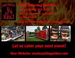 Smokey J's BBQ 1/4 Ad
