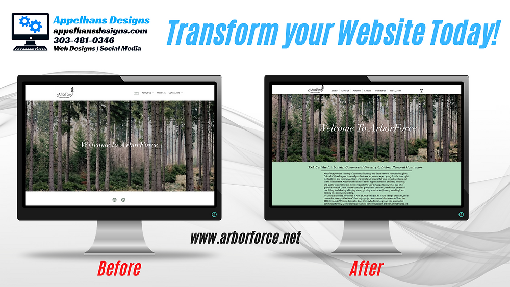 Transform your website today with a New Responsive Website in Denver, Colorado