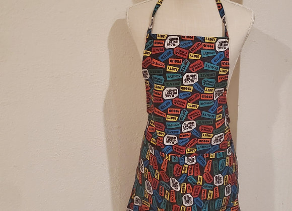 1 Sided Apron with Elastic Strap