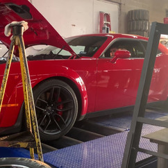 Challenger Dyno Test Pull