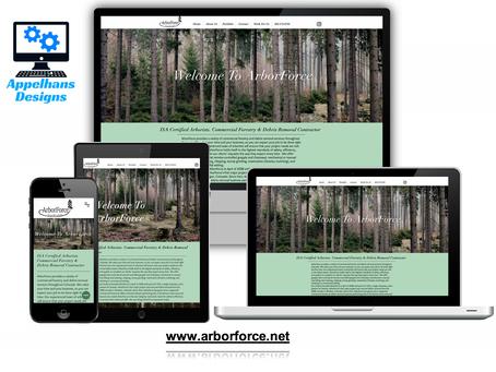 Web Design in Denver Colorado: ArborForce