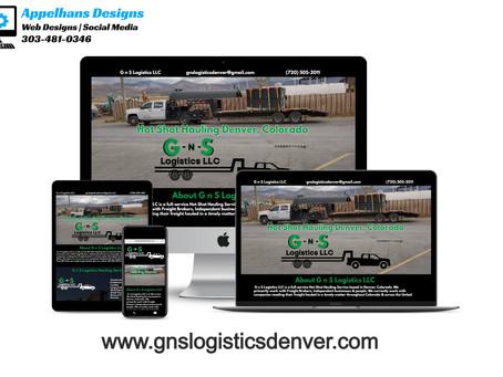 Web Design in Denver, Colorado G n S Logistics LLC