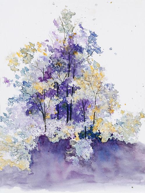 Purple Tree Landscape