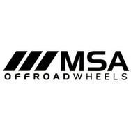 MSA Off Road Wheels