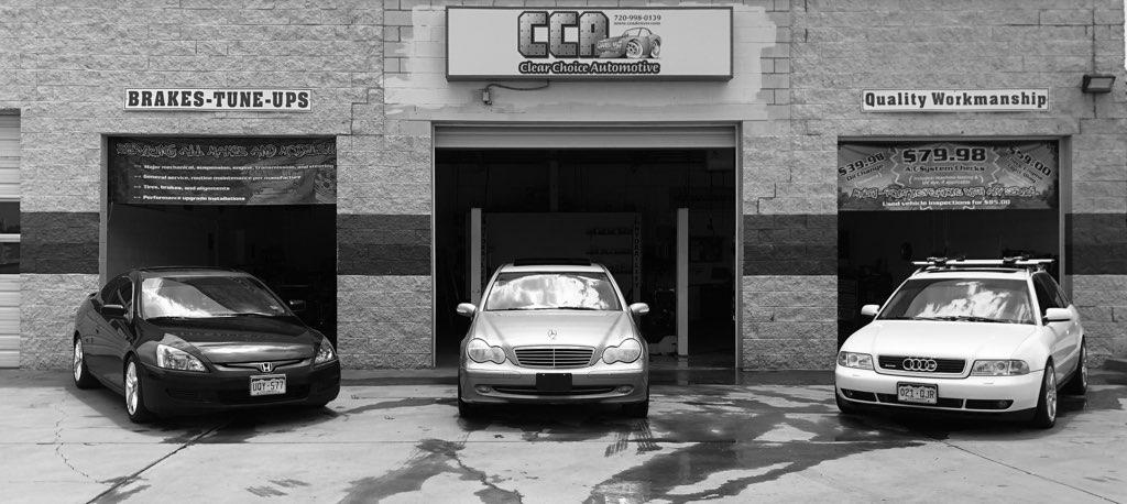 Front Enterance Clear Choice Automotive 1490 W. 70th Ave #4 Denver, CO 80221