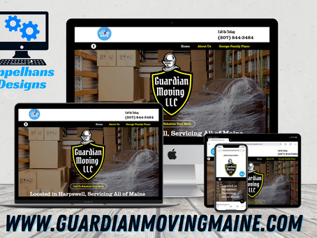 Web Design in Harpswell, Maine: Guardian Moving LLC