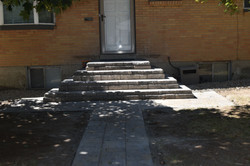 Before Cement Steps