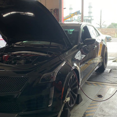 Black Cadillac Dyno Test