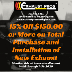 Exhaust Pros Facebook Ad