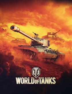Xbox World of Tanks Key Art