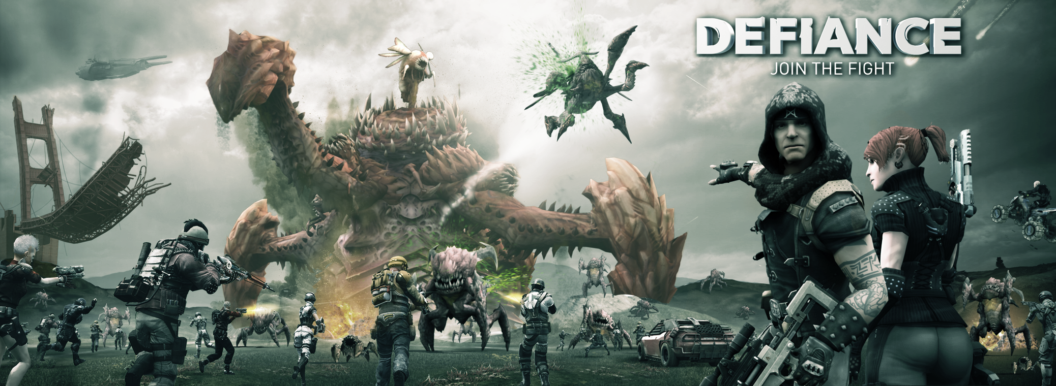 Key art for Defiance