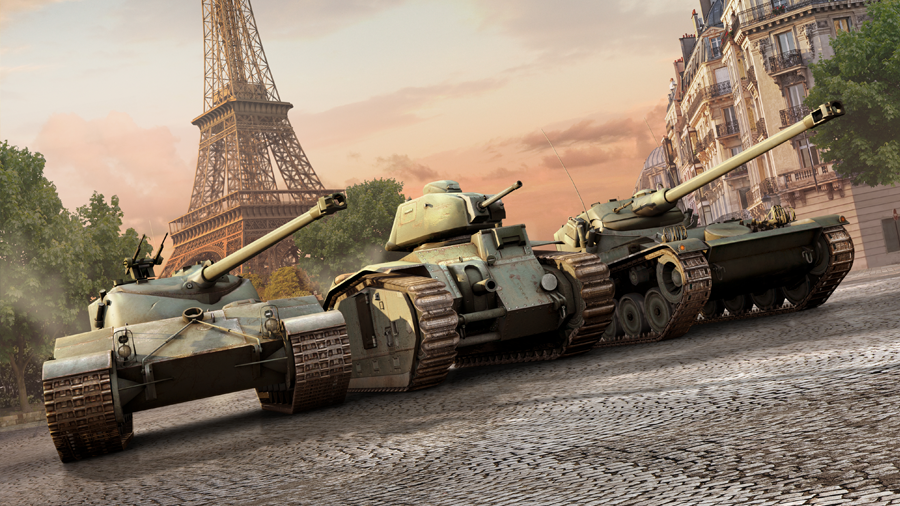 French Tanks Keyart