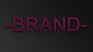 - BRAND -