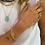 Thumbnail: Bracelet Biggie gold Pearl Karma