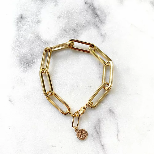 Bracelet Biggie gold Pearl Karma