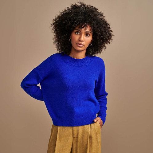 Pull laine bleu Bellerose