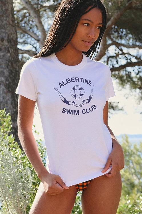 T-shirt swimclub Albertine