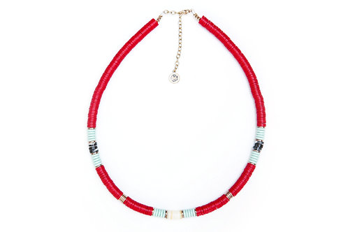 collier surfer kelly red pearl karma