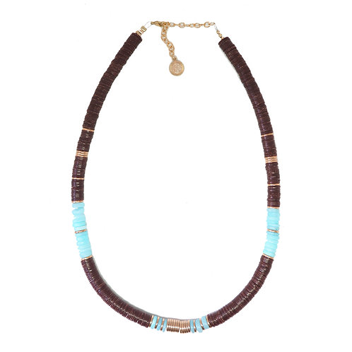 collier bombay cacao