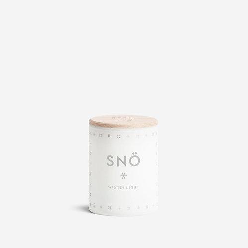 Mini bougie de noël Skandinavisk Snö