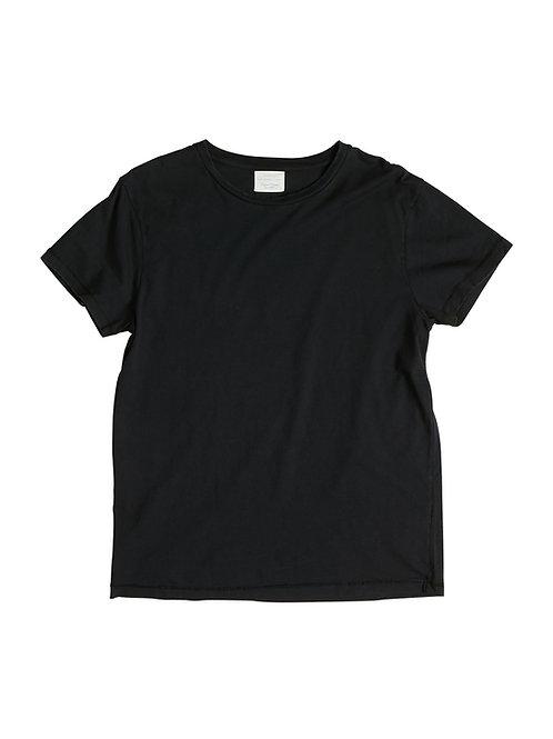 t-shirt noir unisexe used